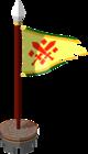 Drapeau du Héros